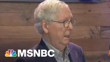 Sen. Mcconnell Tells Big Business To 'Stay Out Of Politics' | Morning Joe | MSNBC 6