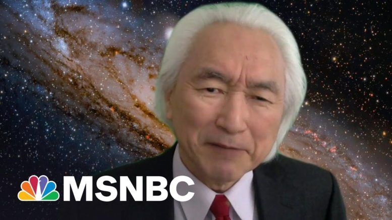 Here We Are In This Gorgeous Universe: Physicist On His Book The God Equation | Morning Joe | MSNBC 1