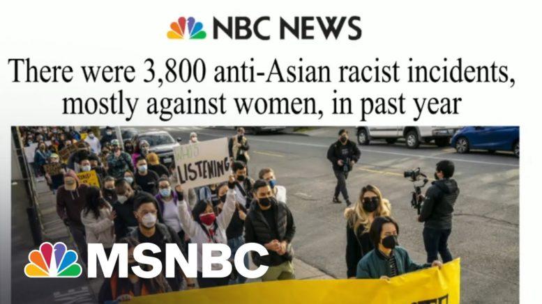 Lawmakers Introduce Bill Addressing Violence Toward Asian Americans | Morning Joe | MSNBC 1