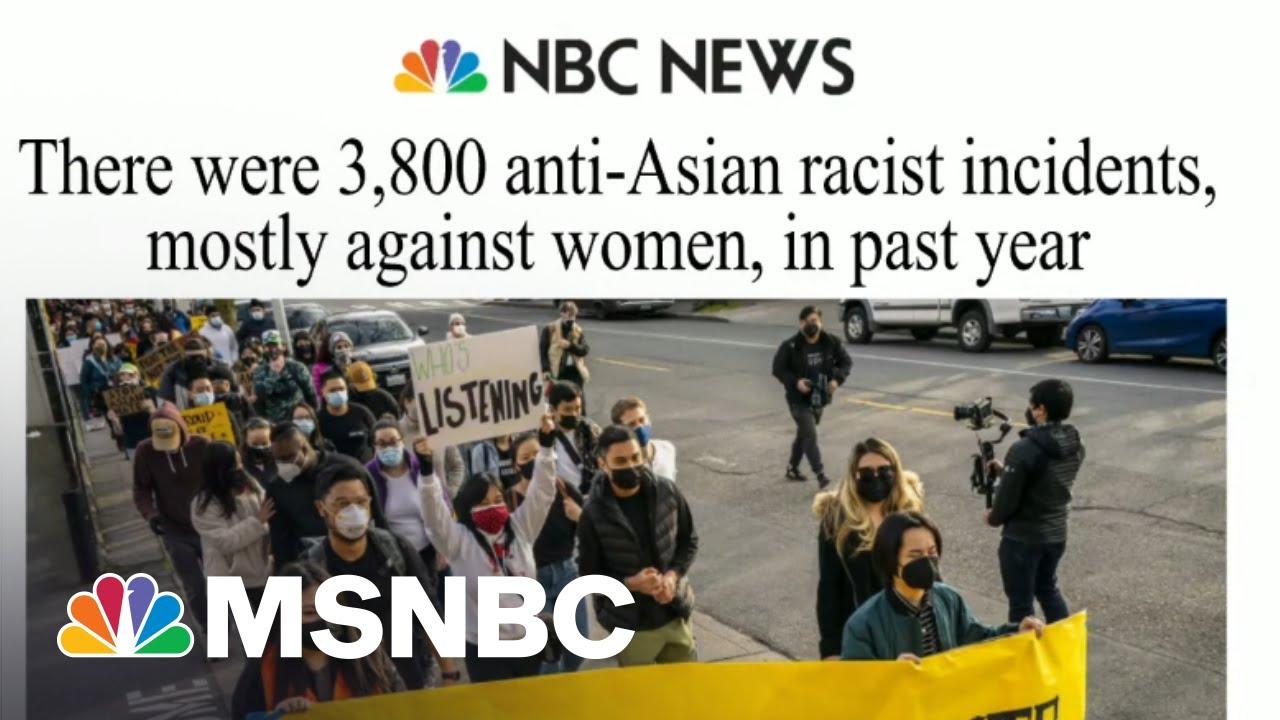 Lawmakers Introduce Bill Addressing Violence Toward Asian Americans | Morning Joe | MSNBC 3