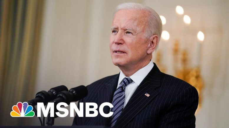 Biden: All Adults Eligible For Vaccine Starting April 19 | MSNBC 1