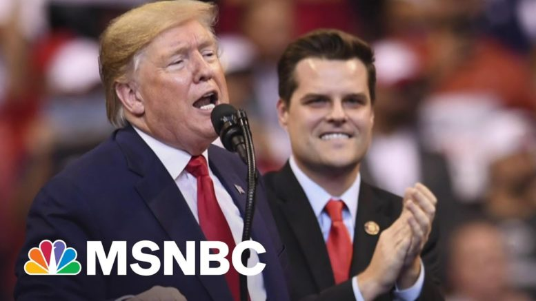 NYT: Matt Gaetz Said To Have Sought Blanket Pardon | All In | MSNBC 1