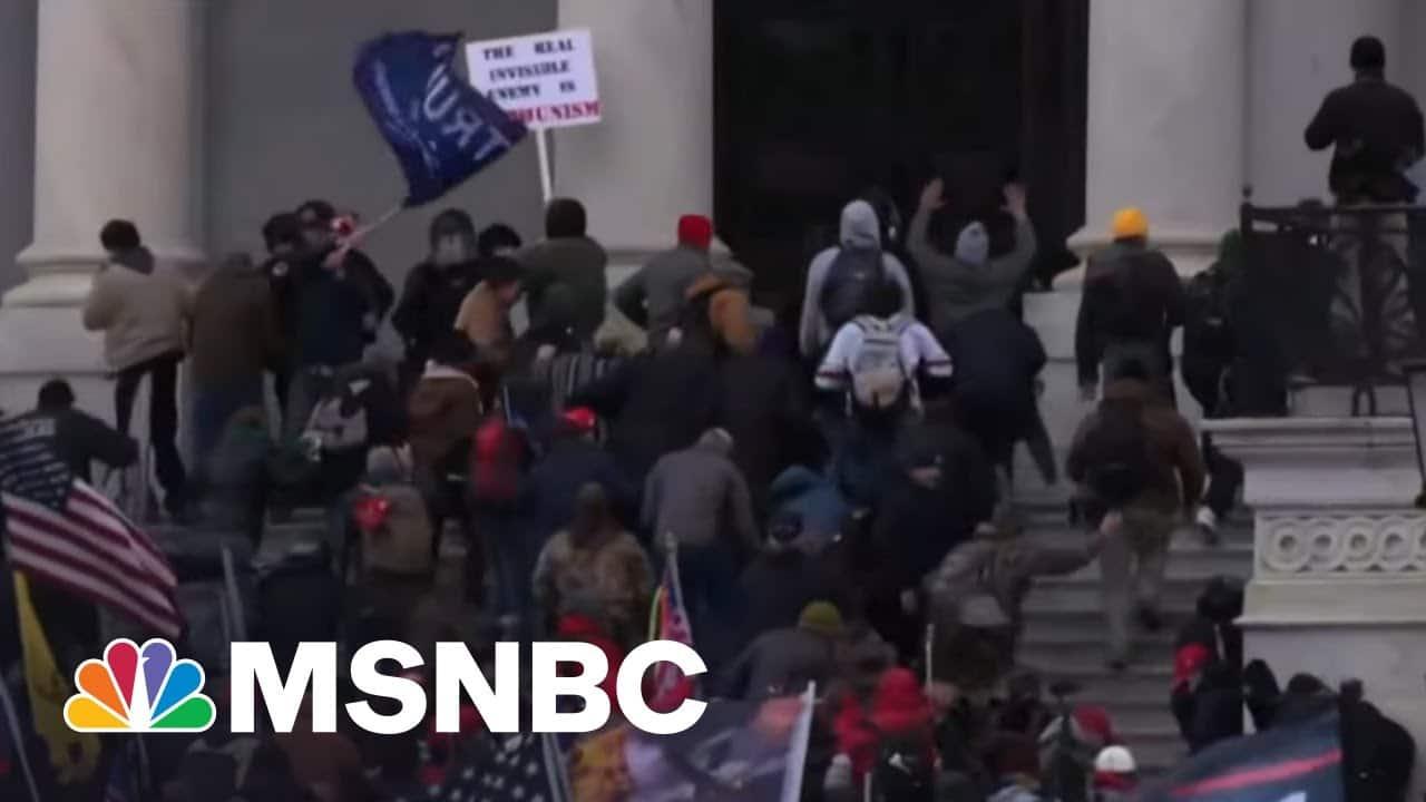 Study: Race Motivated Violent Pro-Trump Mob On January 6 | The Last Word | MSNBC 2