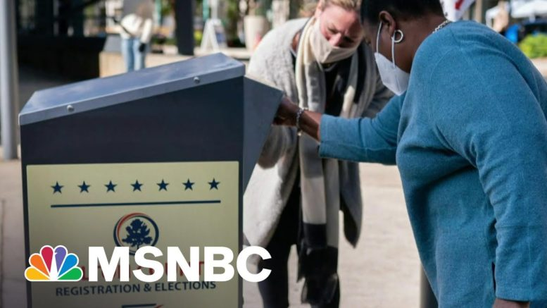 Georgia Companies Condemn Voting Law And Why That Matters | Morning Joe | MSNBC 1