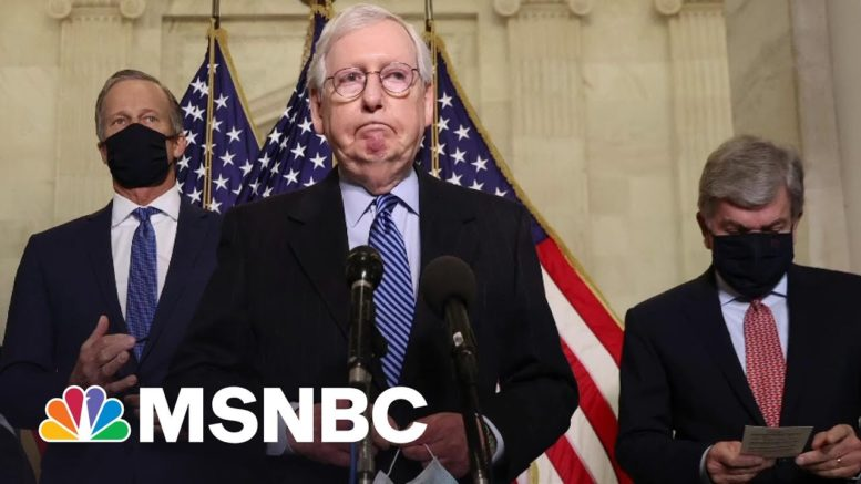 McConnell To Corporations: Stay Out Of Politics—But Give Us Money | All In | MSNBC 1