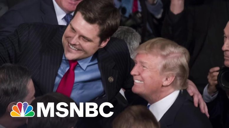 Gaetz Denies Report That He Sought Blanket Pardon From Trump | The 11th Hour | MSNBC 1