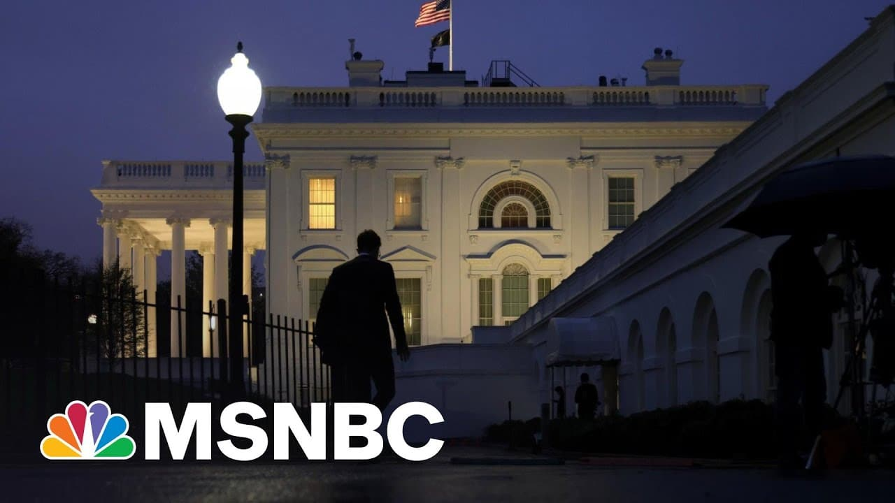 After Trump, Biden White House Has A Lot Fewer Leaks So Far | The 11th Hour | MSNBC 4