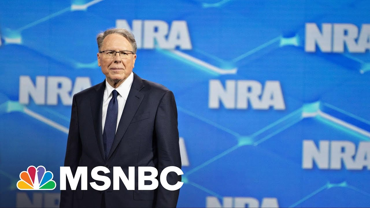 NRA Fights To Declare Bankruptcy As NY AG Lawsuit Threatens To Dissolve Organization | Rachel Maddow 4