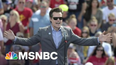 Rep. Gaetz Said To Have Sought Blanket Pardon From Trump WH | Morning Joe | MSNBC 10