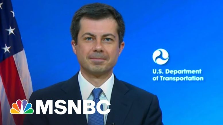 Secretary Buttigieg: We've Got A Lot Of Work To Do On Infrastructure | Morning Joe | MSNBC 1