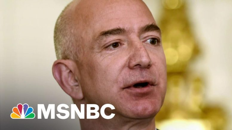 Amazon CEO Supports Higher Corporate Taxes To Pay For Infrastructure Plan | Morning Joe | MSNBC 1
