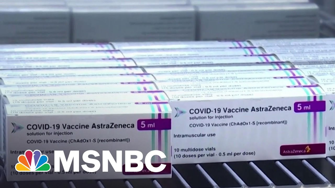 New Report Says Blood Clots Are Very Rare Side Effect Of AstraZeneca Vaccine   Hallie Jackson 1