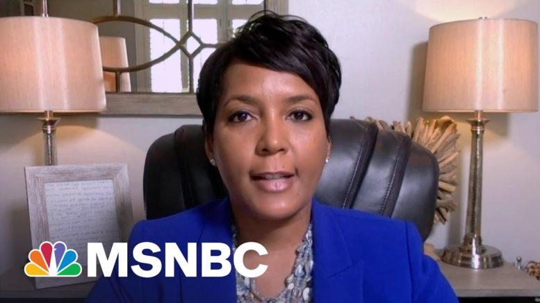 Atlanta Mayor Bottoms: Controversial Georgia Voting Law Is 'Dangerous' | Stephanie Ruhle | MSNBC 1