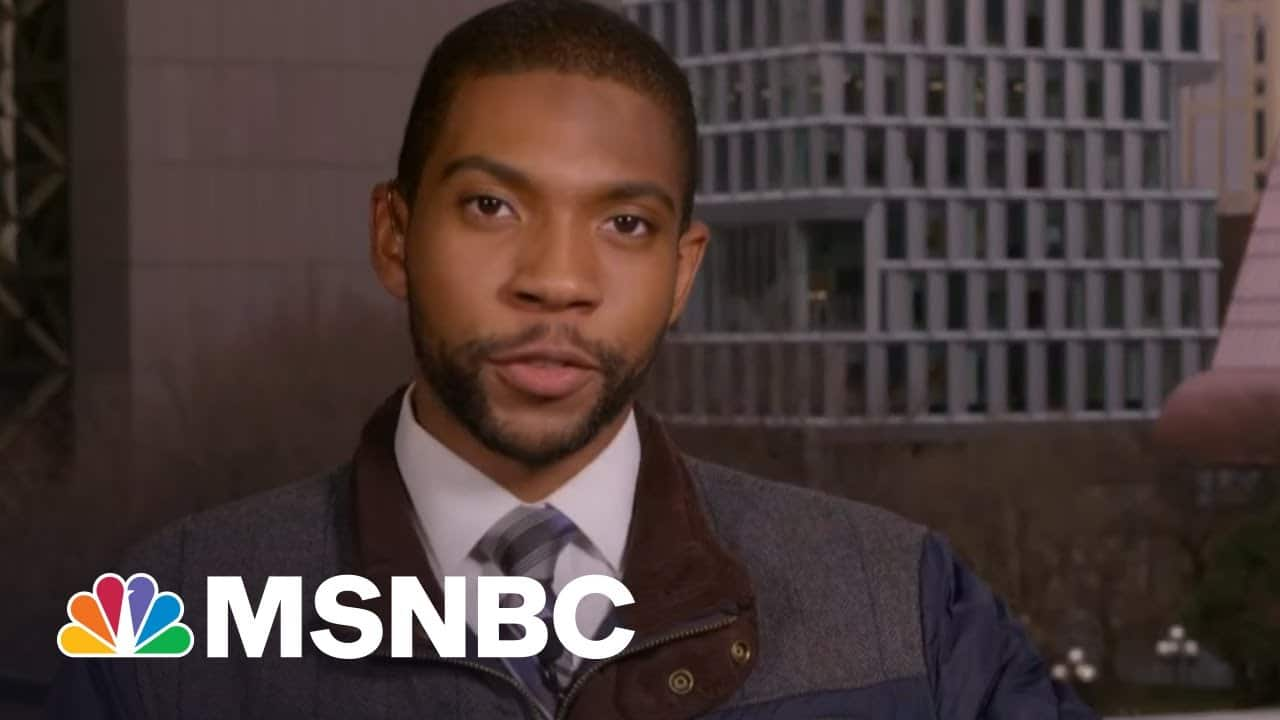 Chauvin Attorney Suggests Floyd Told Officers That 'He Ate Too Many Drugs'   MTP Daily   MSNBC 9