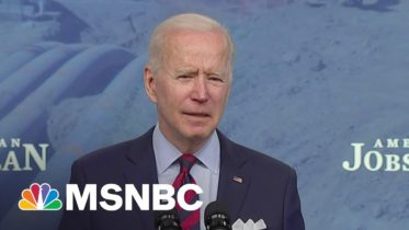 'Inaction Is Not An Option': Biden Defends Infrastructure Plan To 'Build For Tomorrow' | MSNBC 10