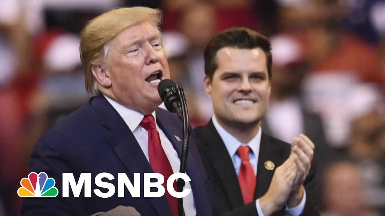 GOP's Gaetz In Free Fall: Sought Trump Pardon Before Bombshell Sex Probe Exposed 1