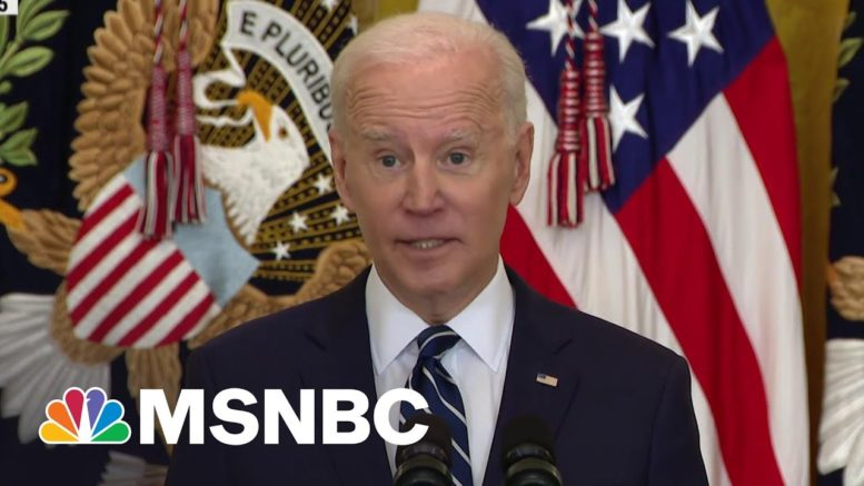New GOP Panic As 'Biden Republicans' Upend Trump's Alliance | The Beat With Ari Melber | MSNBC 1