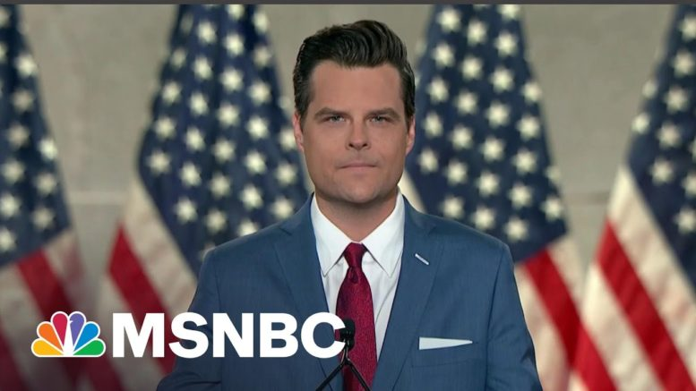 Feds Investigating Matt Gaetz Travel With Women To Bahamas | All In | MSNBC 1