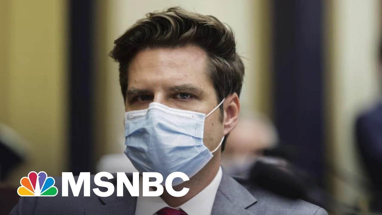 The Drip, Drip, Drip Of The Matt Gaetz Investigation | The Last Word | MSNBC 8