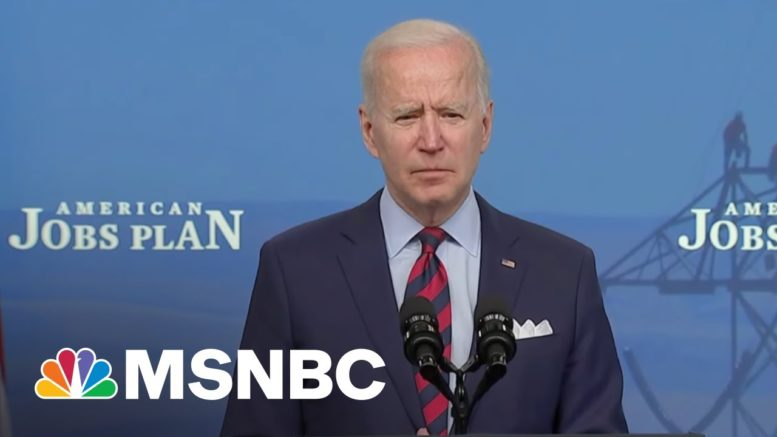 With Broad Support For His Infrastructure Plan Among U.S. Voters, Biden Reaches Out To GOP 1