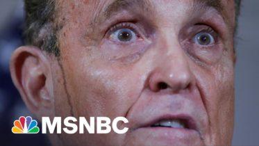Trump, Giuliani Lies Are Basis Of New Georgia Voting Law, Republican Lt. Gov. Admits   Rachel Maddow 10