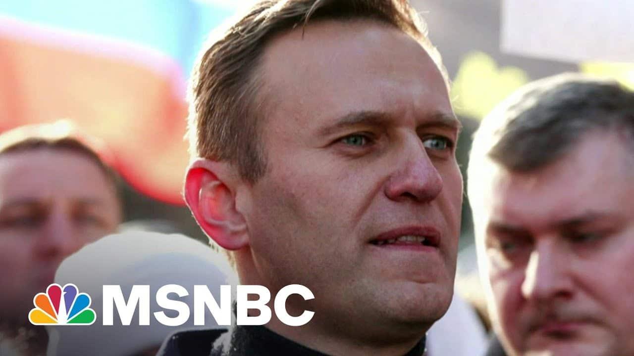 Russian Opposition Leader Navalny Goes On Hunger Strike   Morning Joe   MSNBC 1