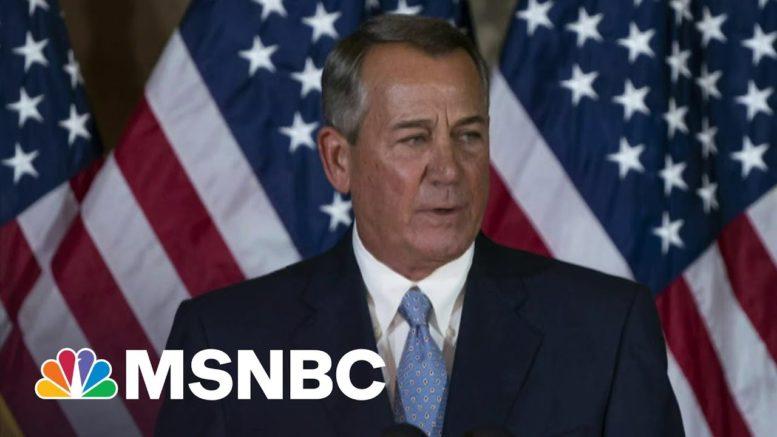 Trump Responsible For 'Bloody Insurrection,' Says John Boehner | Morning Joe | MSNBC 1