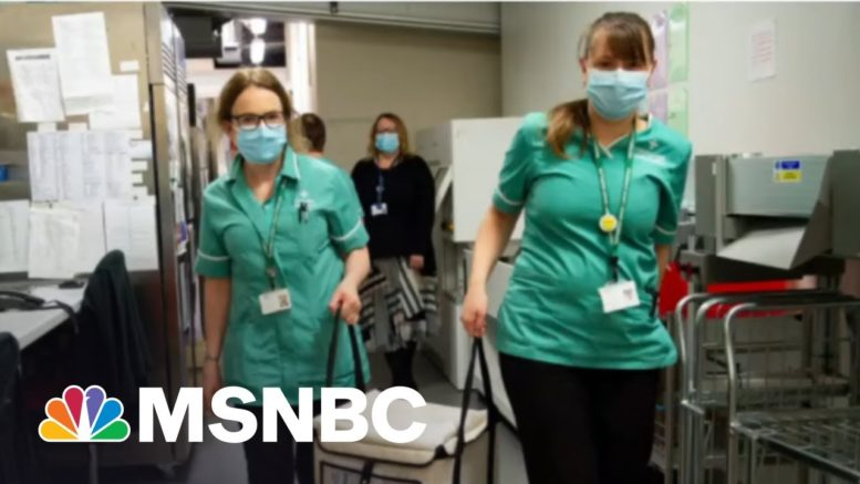 One In Four Adults In America Is Now Fully Vaccinated   Morning Joe   MSNBC 1