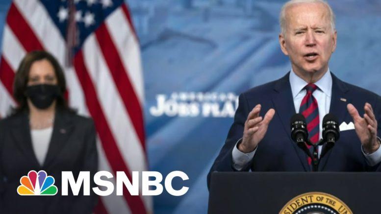 President Biden Warns Against Inaction On Infrastructure | Morning Joe | MSNBC 1