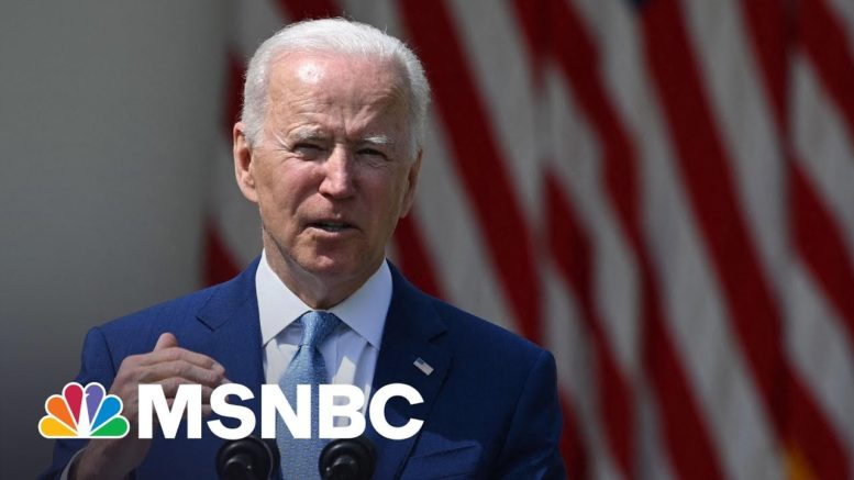 Biden Calls For Ban On Assault Weapons With High-Capacity Magazines | MSNBC 1