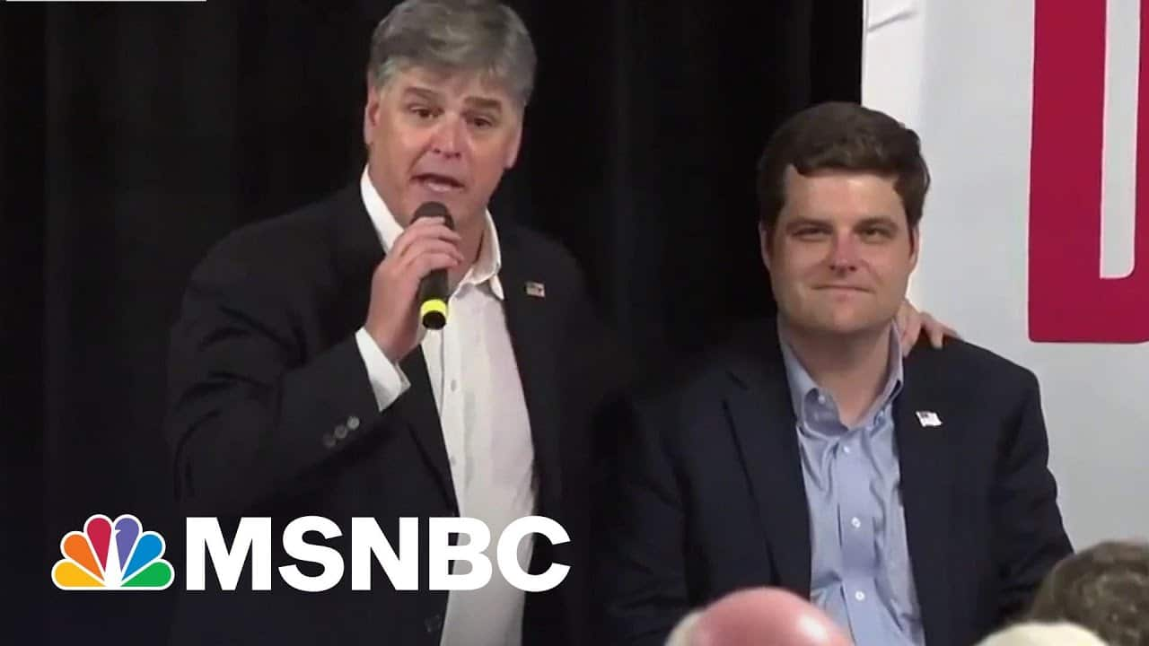 Hannity Goes Silent On 'Friend' Gaetz Amidst Sex Trafficking Probe | The Beat With Ari Melber 6