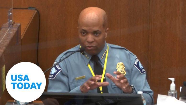 Police chief, ER doctor testify in Derek Chauvin's murder trial in death of George Floyd   USA TODAY 1