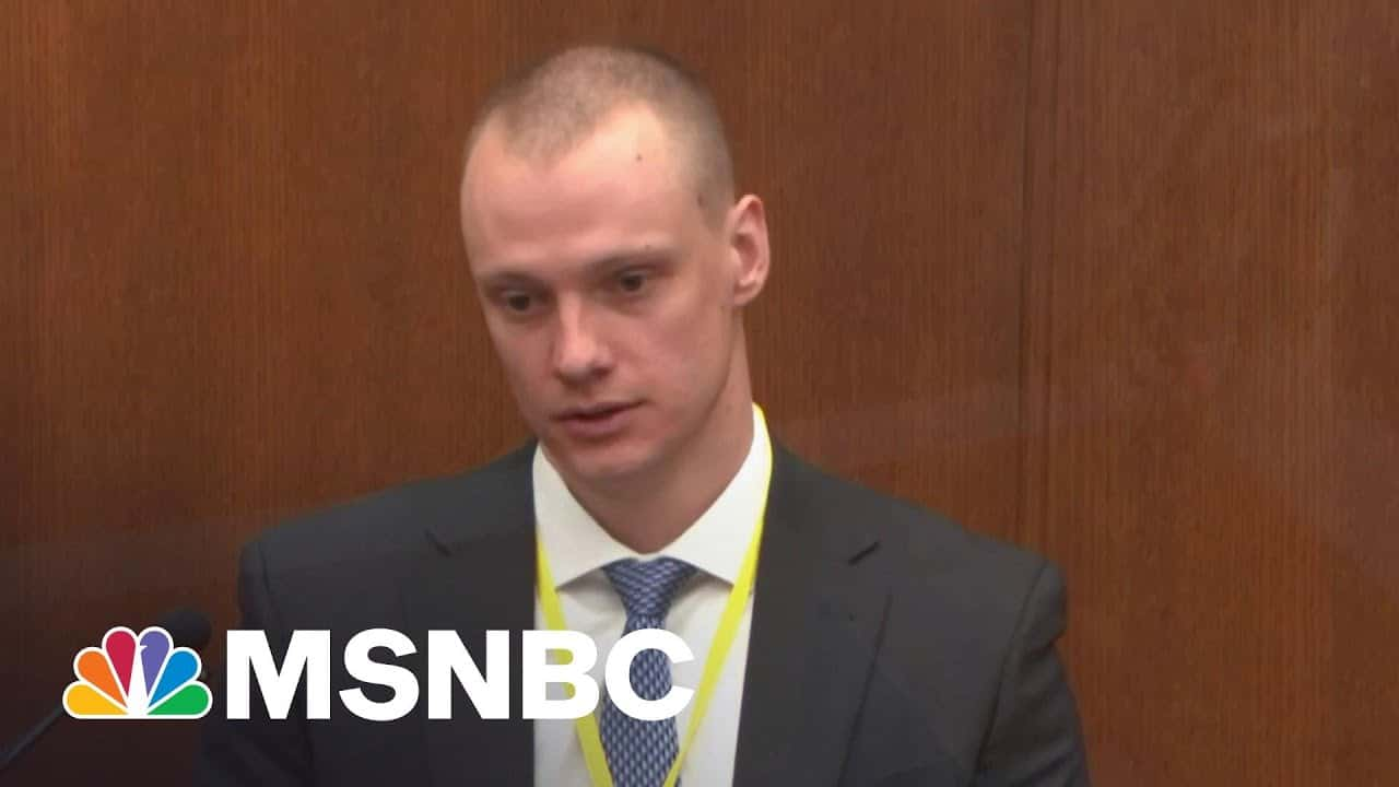 Paramedic: George Floyd Appeared Unresponsive When They First Arrived On Scene | MSNBC 1