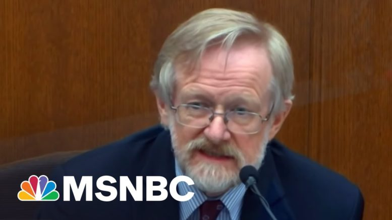 Stunning Medical Testimony On Day 9 Of Chauvin Trial | The Last Word | MSNBC 1