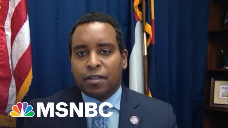 "Rep. Joe Neguse: ""The Pendulum Is Beginning To Shift Again"" | The Last Word | MSNBC 1"