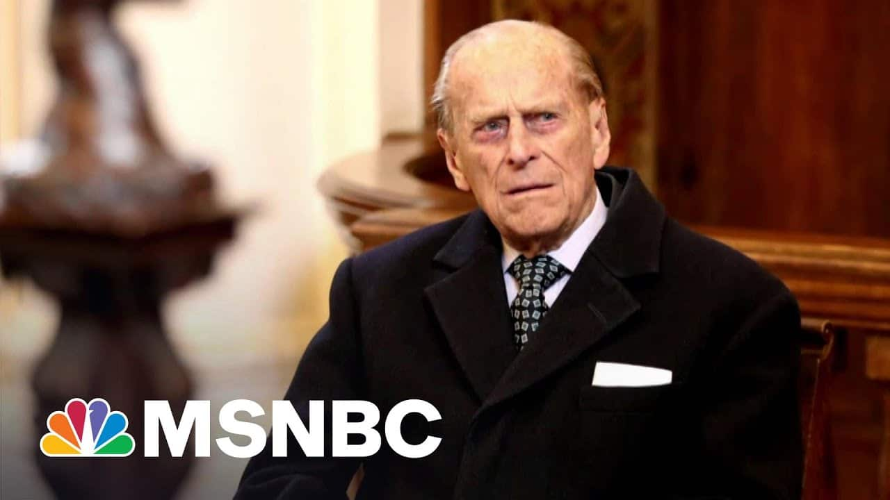 Prince Philip's Funeral To Be Private Due To Covid Pandemic | Craig Melvin | MSNBC 5
