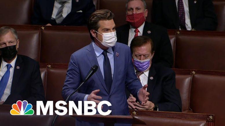 Trump's Ally Under Fire: Amid DOJ Sex Crime Probe, House Launches Ethics Probe Of Gaetz 1