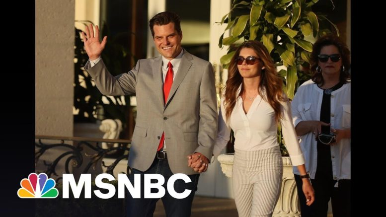 Gaetz Vows He Is 'Not Going Anywhere' At Pro-Trump Event | All In | MSNBC 1