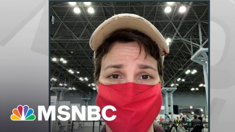 Set Your Concerns Aside And Get Vaccinated. Do It For Others If Not For Yourself | Rachel Maddow 1