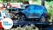 Los Angeles County sheriff gives update regarding cause of Tiger Woods crash | USA TODAY 2