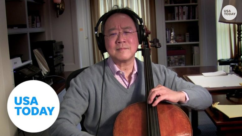 Yo-Yo Ma: COVID, hope and 'brain real estate' | USA TODAY 1