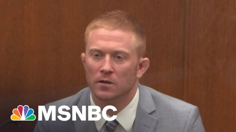 'I Thought He Was Dead': Paramedic Upon Arrival To Scene Of Floyd's Arrest   Ayman Mohyeldin   MSNBC 1