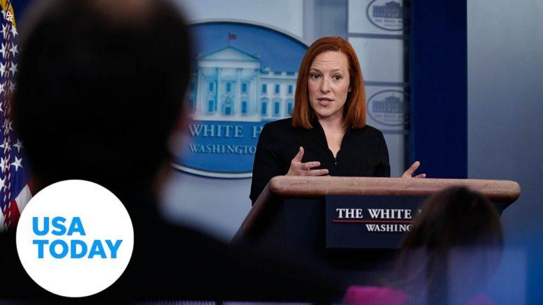 White House Press Secretary Jen Psaki briefs the press | USA TODAY 1