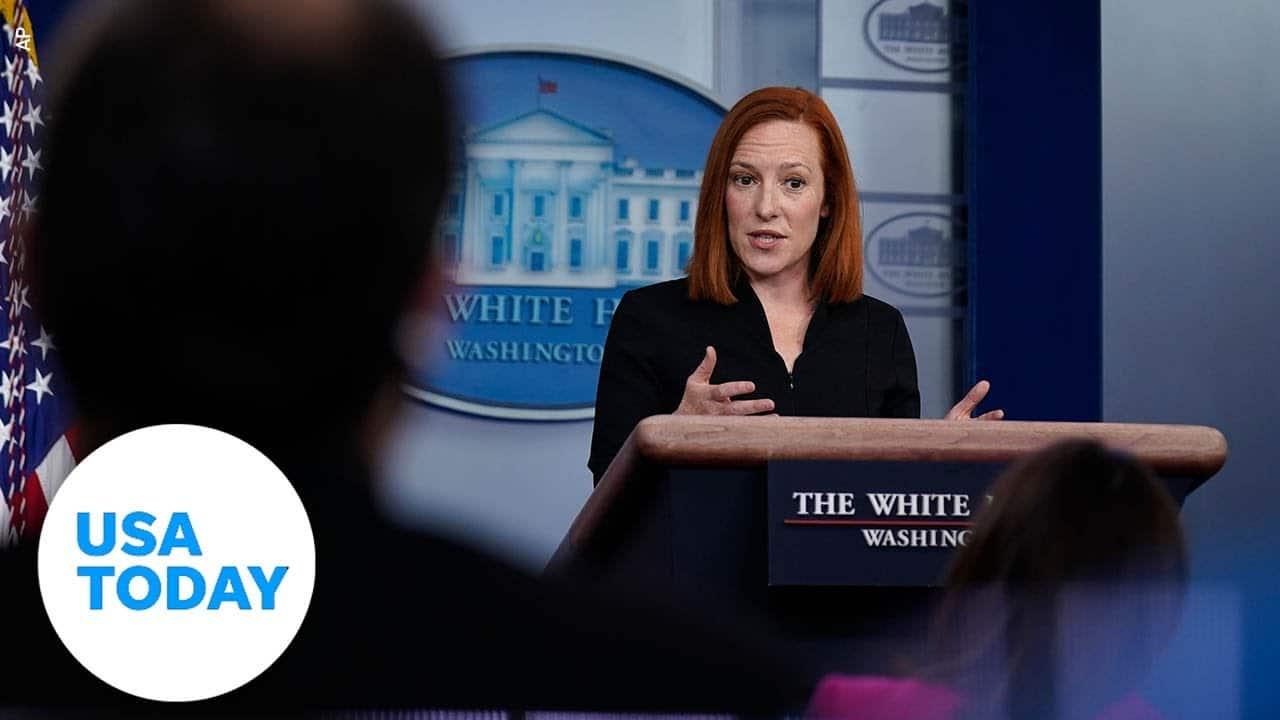 White House Press Secretary Jen Psaki briefs the press   USA TODAY 1
