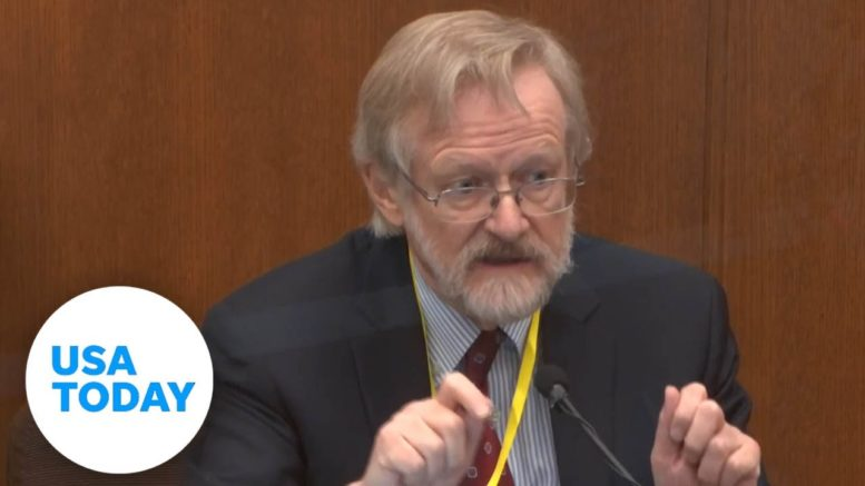 9th day of testimony in Derek Chauvin's trial over death of George Floyd | USA TODAY 1