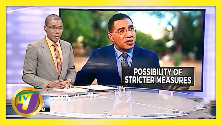 PM Holness Hints at Stiffer Measures if Lockdown in Jamaica Fails - April 1 2021 1