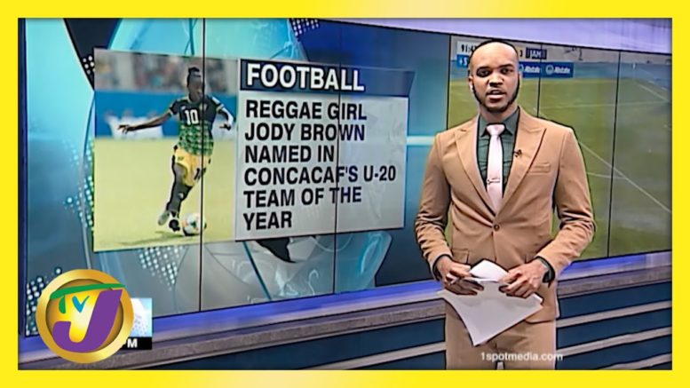 Brown Named in CONCACAFs U-20 Team of the Year - April 2 2021 1