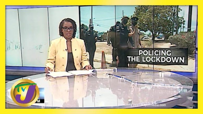 Jamaica's Police Commissioner Tours St. Catherine During Lockdown   TVJ News - April 2 2021 1
