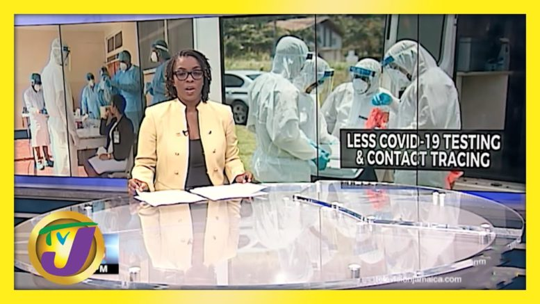Decreased Testing & Contact Tracing for Covid-19 in Jamaica | TVJ News - April 2 2021 1