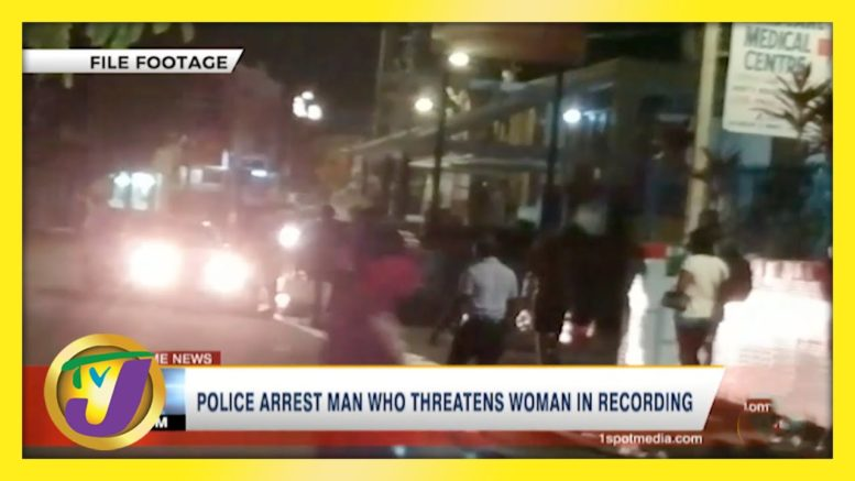 VIEWER DISCRETION: Police Arrest Man Who Threatens Woman in Recordings   TVJ News - April 3 2021 1